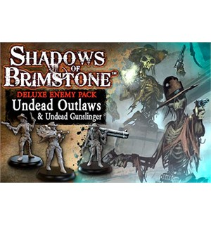 Shadows of Brimstone Undead Outlaws Exp Utvidelse til Shadows of Brimstone