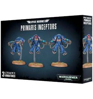 Space Marines Primaris Inceptors Warhammer 40K
