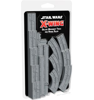Star Wars X-Wing Movement & Range Ruler Deluxe tilbehør Star Wars X-Wing 2nd Ed