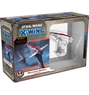 Star Wars X-Wing Resistance Bomber Exp Utvidelse til Star Wars X-Wing