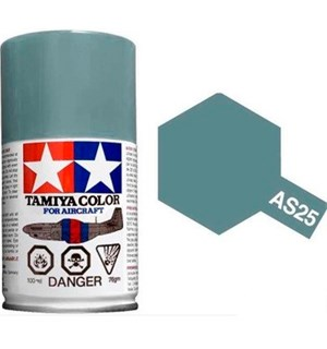 Tamiya Airspray AS-25 Dark Ghost Gray Tamiya 86525 - 100ml