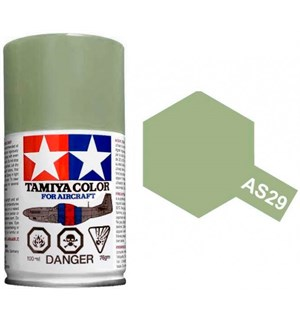 Tamiya Airspray AS-29 Gray Green Tamiya 86529 - 100ml