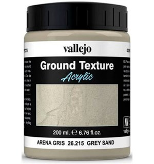 Vallejo Texture Grey Sand 200ml Ground Texture Acrylic