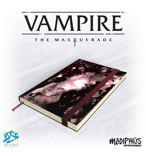 Vampire Masquerade Notatbok 5th Edition - Note Book