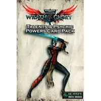 Warhammer 40K RPG Talents & Psychic Powe Wrath & Glory - Psychic Powers Card Pack