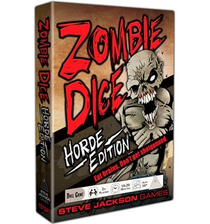 Zombie Dice Horde Edition Terningspill