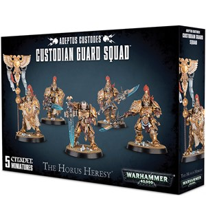 Adeptus Custodes Custodian Guard Warhammer 40K / The Horus Heresy
