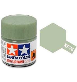 Akrylmaling MINI XF-76 Gray-Green Tamiya 81776 - 10ml