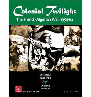 Colonial Twilight Brettspill The French-Algerian War 1954-62