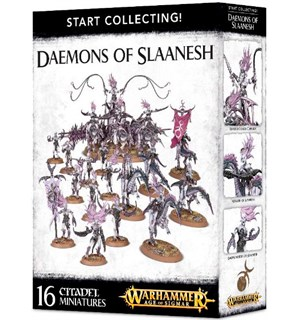 Daemons of Slaanesh Start Collecting Warhammer Age of Sigmar