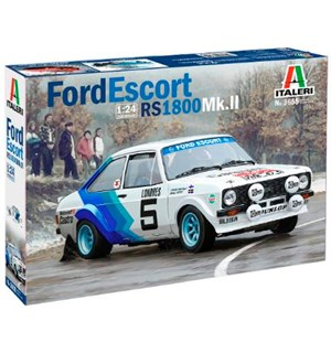 Ford Escort RS1800 Mk.II Italeri 1:24 Byggesett