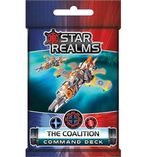 Star Realms The Coalition Expansion Command Deck til Star Realms