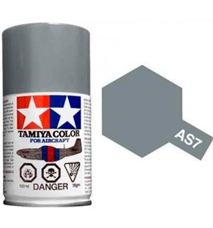 Tamiya Airspray AS-7 Neutral Grey Tamiya 86507 - 100ml