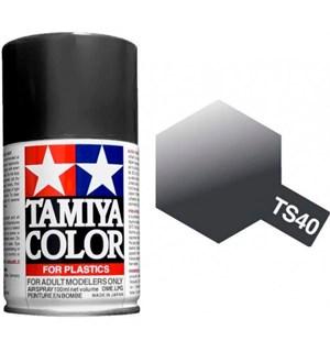 Tamiya Airspray TS-40 Metallic Black Tamiya 85040 - 100ml