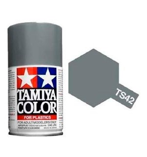 Tamiya Airspray TS-42 Light Gun Metal Tamiya 85042 - 100ml
