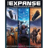 The Expanse RPG Core Rulebook Roleplaying Game - Regelbok