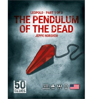 50 Clues 1 Pendulum of Dead Brettspill Pendulum of the Dead