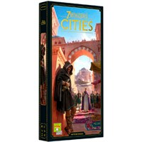 7 Wonders (2nd Ed) Exp Cities - Engelsk Utvidelse til 7 Wonders 2nd Edition