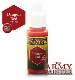 Army Painter Warpaint Dragon Red Også kjent som D&D Cambion Crimson