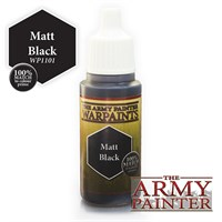 Army Painter Warpaint Matt Black Også kjent som D&D Abyssal Black
