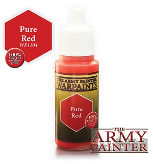 Army Painter Warpaint Pure Red Også kjent som D&D Dragonfire Red