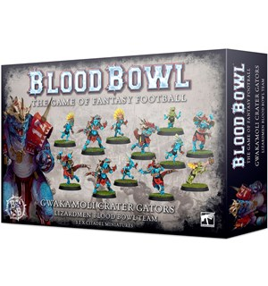 Blood Bowl Team Gwakamoli Crater Gators