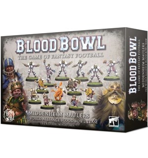 Blood Bowl Team Middenheim Maulers Human/Dwarf/Halfling Blood Bowl Team