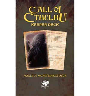 Call of Cthulhu Malleus Monstrorum Deck Call of Cthulhu RPG Keeper Deck