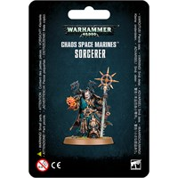 Chaos Space Marines Sorcerer Warhammer 40K