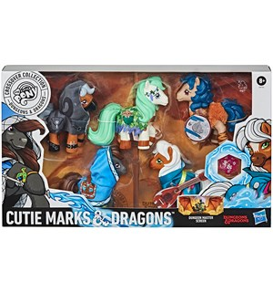 D&D Cutie Marks & Dragons Collection My Little Pony + Dungeons & Dragons
