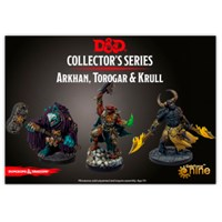 D&D Figur Coll Series Arkhan/Torogar/Kru Dungeons & Dragons Collectors Series
