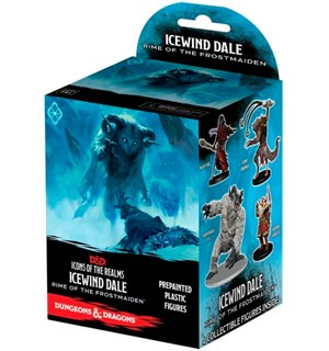 D&D Figur Icons Icewind Dale x4 Dungeons & Dragons Icons of the Realms