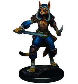 D&D Figur Icons Tabaxi Rogue Female Icons of the Realm Premium Figures