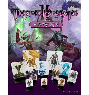 D&D Suppl. Tome of Beasts 2 Pawns Dungeons & Dragons Supplement