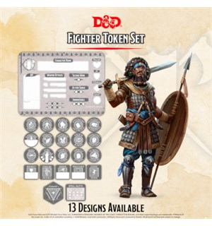 D&D Token Set Fighter Dungeons & Dragons