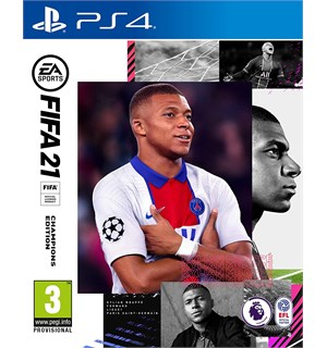 FIFA 21 Champions Edition PS4 3 DAGER EARLY ACCESS + BONUSER