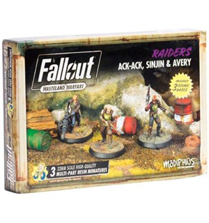 Fallout Wasteland Ack-Ack/Sinjin/Avery Utvidelse til Fallout Wasteland Warfare