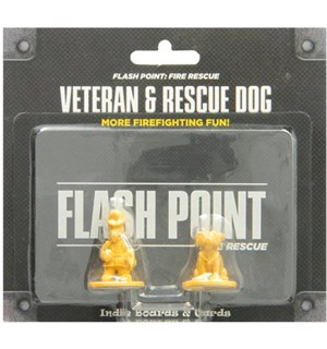 Flash Point Veteran & Rescue Dog Exp Utvidelse til Flash Point Fire Rescue
