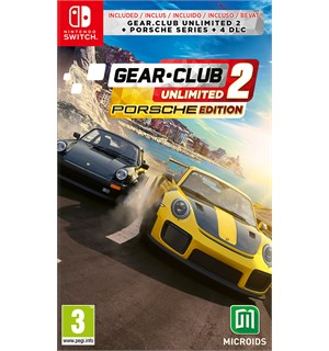 Gear Club Unlimited 2 Porsche Ed Switch Inkl. Porsche Series + 4 DLC pakker