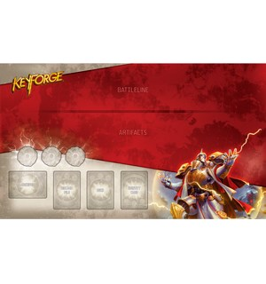 KeyForge Playmat Sir Marrows - 60x35cm Spillmatte for 1 spiller til KeyForge