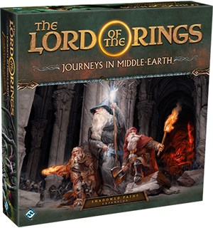 LotR Journeys Shadowed Paths Expansion Utvidelse til Lord of the Rings Journeys
