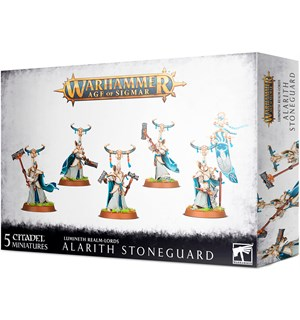 Lumineth Realm Lords Alarith Stoneguard Warhammer Age of Sigmar