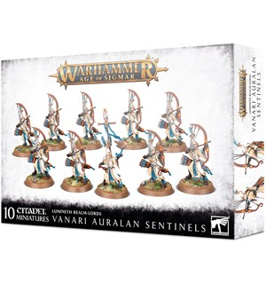 Lumineth Realm Lords Vanari Sentinels Warhammer Age of Sigmar - Auralan