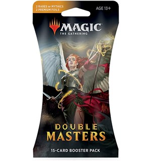 Magic Double Masters Draft Booster 15 kort per pakke - Inkluder 2 Rare/Foil