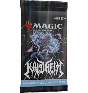 Magic Kaldheim Collector Booster 15 kort - FOR SAMLERE