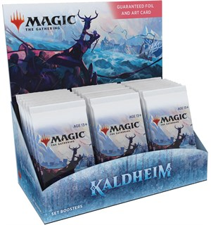 Magic Kaldheim SET Display 30 boosterpakker - Fabrikkforseglet