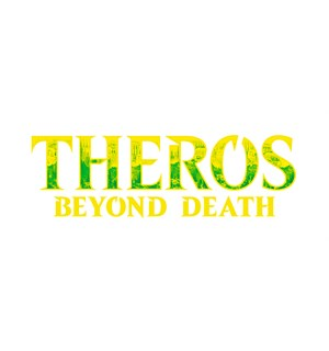 Magic Theros Beyond Death Theme Green Theme Booster - 35 grønne kort