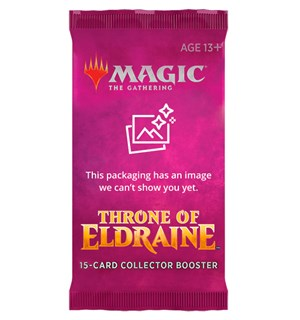 Magic Throne of Eldraine Coll. Booster Collector Booster - FOR SAMLERE