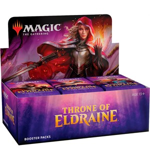 Magic Throne of Eldraine Display 36 pakker á 15 kort per pakke