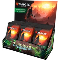 Magic Zendikar Rising Set Display 30 boosterpakker - Fabrikkforseglet